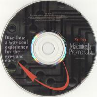 Fall '93 Macintosh Promo CD Disc One: a way-cool experience for the eyes and ears.